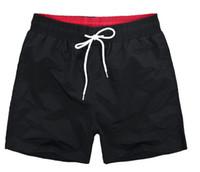 горячие случайные виды спорта оптовых-Мужские шорты пляж случайные спортивные шорты горячей продажи мужской кружева многоцветный быстросохнущие шорты длиной до колен бесплатная доставка