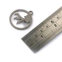 набор армейских ножей оптовых-Брелок бусины для ножа талреп сделал TC4 Титана кемпинг утилиты EDC многофункциональный открытый аксессуары нож кулон инструменты