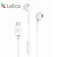 Wholesale Digital Ear - Original Letv CDLA Earphone LeEco 2Pro HiFi Chip Inbedded Continual Digital Lossless Audio USB To Type-C Plug Fast Power Adapter