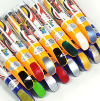 Wholesale car paint sealer - Free Shipping Pro Mending Car Remover Scratch Repair Paint Pen Clear 39colors For Choices wholesale