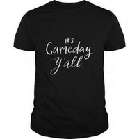 Wholesale free games online for sale - T Shirt Design Online O Neck Short Sleeve It S Game Day Y All Graphic T Shirts For Men