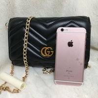 Wholesale Heart Roll - SALE Marmont shoulder bags women luxury brand chain crossbody bag fashion quilted heart leather handbags female famous designer purse Towel