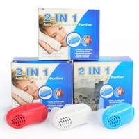Silikon Schnarchen Großhandel 2017 Brand New Silicone Snore Stopper  Gesunden Sleeping Keepper Magnetische Anti Schnarche