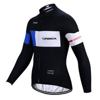 Wholesale orbea bike cycling long for sale - Winter Orbea Cycling Jerseys Polyester cycling clothing Long Sleeve ropa ciclismo hombre Breathable Men Cycling Jerseys Bike Sports Gym