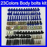 Wholesale Rs 125 - Fairing bolts full screw kit For Aprilia RS4 125 RS125 06 07 08 09 10 11 RS 125 2006 2007 2008 2011 Body Nuts screws nut bolt kit 23Colors
