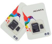 adata sd kartları toptan satış-2020 ADATA 128 GB 64 GB 32 GB Sınıf 10 128 GB TF Hafıza SD Kart C10 TF Hafıza Kartı ile Ücretsiz SD Adaptörü Perakende Blister Paketi DHL Ücretsiz kargo