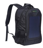 ingrosso bici blu gatto-GSE-678 Borsa sportiva per lo sport 7.5W zaino per computer portatile da spalla per attività sportive con energia solare