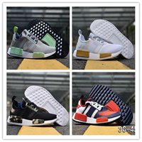 Wholesale White Camo Hunting - 2018 cheap NMD Running Shoes Cheap Sneaker NMDPrimeknit OG PK Zebra Bred Blue Shadow Noise Duck Camo Core Black shoes size 36-45