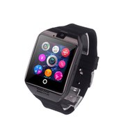 Wholesale best smartphone prices for sale – best Smart Watches Best Price New Q18 Camera Support SIM Card For Android Smartphone Sport WristWatch Pedometer Watch