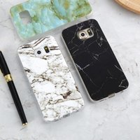 Wholesale galaxy s4 case online – custom Marble Skin Case For Samsung Galaxy S8 Plus S7 S6 Edge iPhone plus Soft Silicon Phone Cases For Samsung S8 Galaxy S7 S6 Cover S4