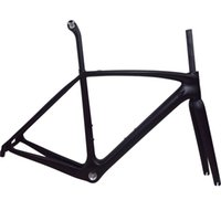 Wholesale carbon road bike brands - T1000 Full carbon racing road bike bicycle frame with brand logo available Light weight mechanial& di2 BSA BB30 PF30
