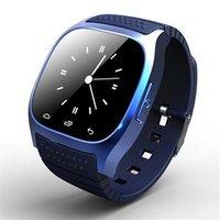 andriod saatler toptan satış-Smartwatch M26 Andriod cep telefonu için Bluetooth Kablosuz Giyilebilir Cihaz Akıllı Izle Perakende Kutusu ile Spor Izle