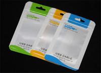 sac de chargeur de cellules achat en gros de-10.5 * 15 clair au détail paquet sac boîtes pour chargeur de téléphone portable câble micro USB sync câble écouteurs audio iphone 6 plus Samsung S6 emballage