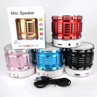 Wholesale cheap quality computers for sale - S28 Mini Bluetooth Speakers Cheap High Quality Metal Wireless Speaker Support TF Card Answer Call Car MP3 Player Update A9