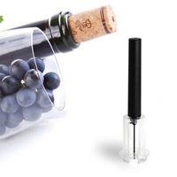 Wholesale air pump wine opener - Red Wine Opener Air Pressure Cork Popper Bottle Pumps Corkscrew Cork Out Tool MMA102