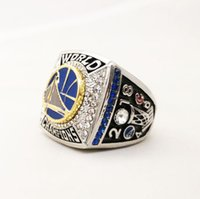 Wholesale r cluster - Men fashion sports jewelry 2018 C u r r y championship ring fans souvenir gift
