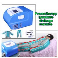 ingrosso macchina drenante linfatica pressione aria-New professionale Pressoterapia Air pressure linfodrenaggio massaggio a infrarossi tutto il corpo detox dimagrante macchina di disintossicazione linfatica