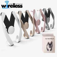ingrosso telefoni schermi da 7 pollici-Porta telefono auto-styling per iPhone 7 Samsung s7 s8 schermo universale 4-7 pollici materiale ABS auto di lusso
