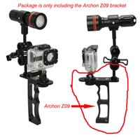 Wholesale gopro led light - Archon Z09 Mount Bracket GoPro Camera for Underwater Photography Diving Light