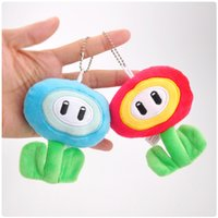 Wholesale High Quality Cotton inches cm Super Mario Bros Flower Plush Toy For Child Holiday Gifts