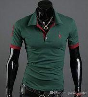 Wholesale online beading - Fashion 2018 Summer T-Shirts Men New Designer Men's T Shirt Short 514 Sleeves Tops Tees Hip Hop Shirts online