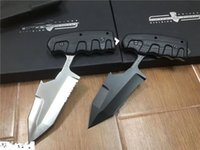 Wholesale knife fixed d2 for sale - Group buy Top Quality Extrema Ratio S E R E Outdoor survival Tactical knife D2 Tanto Blade G10 Handle Fixed Blade Knives PD02