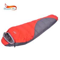 askeri ordu tarzı çanta toptan satış-Uyku Tulumu Çöl Kış Uyku Çanta Giyilebilir Battaniye Çift Renkli Kapalı Açık Eklenmiş Seyahat Soğuk Hava