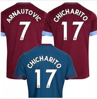 Wholesale quality ham - Top quality 2018 2019 New West Ham United jersey 18 19 Thai quality CHICHARITO CARROLL SAKHO AYEW football jersey shirt