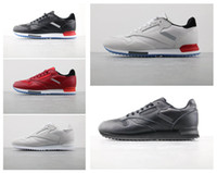 Wholesale ripple red - 2018 Classic Leather Ripple Low BP Mens casual Shoes For Men Sneakers Fashion Athletic Sport Shoe Hiking Jogging Walking Shoes