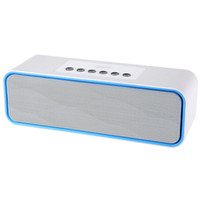 Wholesale free calls computer - MUSKY DY - 22 2 in 1 Portable Wireless Bluetooth FM Radio Speaker Mini Support Hands Free Phone Calls 3.5mm Aux Line-in Port