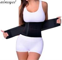 Wholesale tummy girdle waist trimmer - Brand Miss Waist Trainer Slimming Belt Slim Underwear Waist Trainer Corsets Cincher Girdle Postpartum Tummy Trimmer Body Shaper
