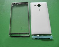 Wholesale housing xperia - Wholesale 5Pcs New Original Full Housing Chassis Cover Case for Sony Ericsson Xperia SP M35h C5302 C5303 + Free Tools