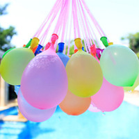 Wholesale kid water toys for sale - Outdoor Water Balloon Amazing Magic Water Balloons Bombs Toys for Children Kids Summer Beach Water Sprinking Ballons Games STY097
