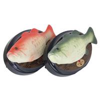 pcs pesca al por mayor-1pc lindo cantando y bailando plástico peces juguete vocal uno pcs