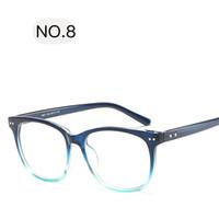 korrekturgläser großhandel-2018 Runde Brillengestell für Weibliche Klasse Computer Brille Mode Lesen Cat Eye Brillen Frauen Optische Brillen