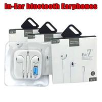 новые сотовые телефоны оптовых-Новая бумага упаковка лучшее качество AAAA + + + + в ухо Bluetooth наушники для Mp3 сотовый телефон 7 8 плюс 8X новые 3.0