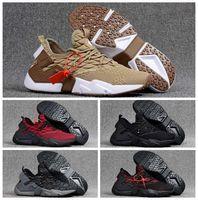 zapatos de punto para hombres al por mayor-Zapatos de running knit 2018 Huaraches 6 Ultra Run Zapatillas Huarache Drift para hombre Zapatos de deporte Huraches Zapatos Hurache Talla 40-46