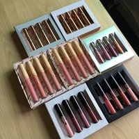 Wholesale love kits - 4pcs lip kit 7 style in stock vacation nude In Love with the KOKO Liquid Lip KOLLECTION 4pcs set Cosmetics