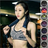Wholesale Sports Bra Women Fitness Yoga Padded Push Up Breathable Gym Bra Sujetador Brasieres Deportivos Soutien Gorge Sport Top