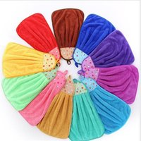 Wholesale Types Bathing Suits - 32*46cm Coral Velvet Fleece Hanging Type Towel Kitchen Tool Home Decor Towel Bathrobes Blanket Bathroom Accessories Bathing Suits