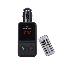 Discount mp3 tuners - Car Kit Bluetooth V3.0 FM Transmitter Wireless MP3 Player Modulator Handsfree LCD Mic USB Charger Support Remote Control TF Card