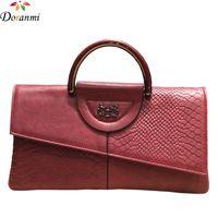 790bef2328 DORANMI Classic Day Clutch Bags Per Donna 2018 Luxury Brand Designer  Top-handle Borse Femminile Thin Envelope Clutch NPJ108