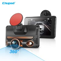Wholesale ips fhd - Chupad 360 degree D520 Car DVR Ambarella Dash Cam 4 inch FHD 1080P IPS Touch Screen Car Driving Recorder Support 4 Formats