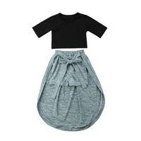 платья для мальчиков оптовых-2018 Toddler Kids Baby Girl Princess Clothes Tops+Shorts Pants Dress Skirt Outfits Hot