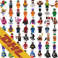 Wholesale Hero Build - Wholesale 631 Roles Mix Order The Avengers Bat Movie Spiderman Super Man Figures Super Heroes Pump Mini Building Blocks Figures