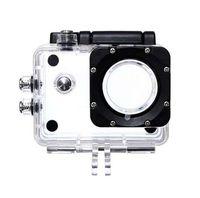sjcam fall großhandel-Unterwasser Wasserdichte Fall Outdoor Sport Action Kamera Schutzkasten Fall für SJCAM SJ4000 SJ4000 WIFI Plus Eken h9