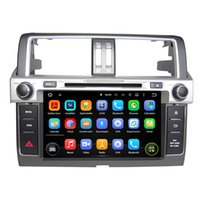 "Wholesale toyota prado android - 9"" Android 7.1.1 Car DVD GPS for Toyota Prado 2014 Car Navigation system Radio RDS audio video player WIFI 4G Support OBD DVR"