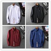 Wholesale mens autumn dress for sale - New Brand Spring Autumn Casual Long Sleeve Men Shirt Higts Plus Sizeh Quality Cotton Formal Business Plaid Mens Dress Shir