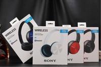 auricular bluetooth inalámbrico azul al por mayor-Venta caliente SONY MDR-ZX330BT auricular inalámbrico Bluetooth auricular inalámbrico restricciones Cuatro colores blanco rojo azul y negro DHL