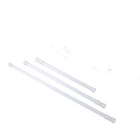 Wholesale Clothes Rod - High Carbon Steel Adjustable Rod Tension Bathroom Curtain Extensible Rod Hanger P20